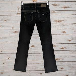 EUC Guess Daredevil Boot Cut Jeans 24